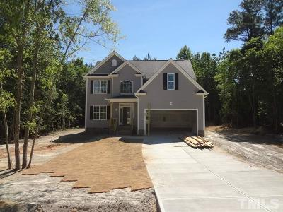 Zebulon Single Family Home For Sale: 20 Wadeford Drive