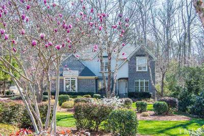 Durham Single Family Home Contingent: 135 Crooked Creek Lane