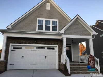 Wendell Single Family Home For Sale: 212 Vintage Point Lane