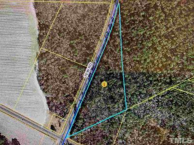 Sampson County Residential Lots & Land For Sale: Tew Road