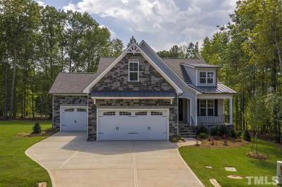 Wake Forest Single Family Home For Sale: 1112 Goldfinch Ridge Lane