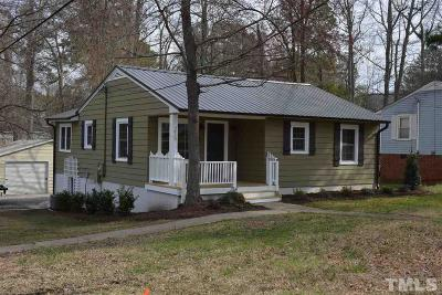 Sanford NC Single Family Home For Sale: $135,000
