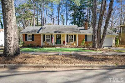 Raleigh Single Family Home For Sale: 812 Northclift Drive