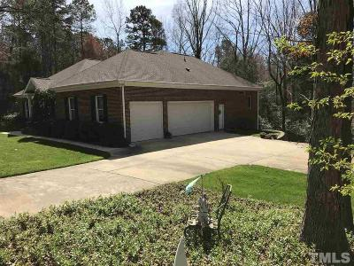 Holly Springs Single Family Home Contingent: 6245 Hilbert Ridge Drive