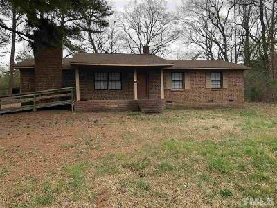 Franklinton Single Family Home For Sale: 115 Allen Avenue