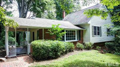 Raleigh Single Family Home For Sale: 541 Barksdale Drive