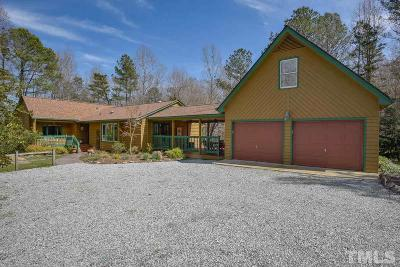 Chapel Hill Single Family Home For Sale: 2614 Winningham Road