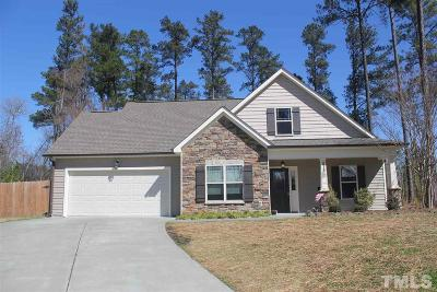 Granville County Single Family Home For Sale: 215 Griffis Drive
