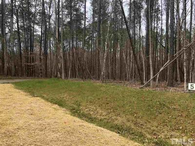 Apex Residential Lots & Land For Sale: 3801 Sleepy Brook Lane