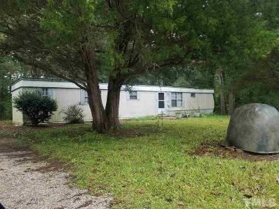 Wake County Manufactured Home Pending: 6501 Old Stage Road