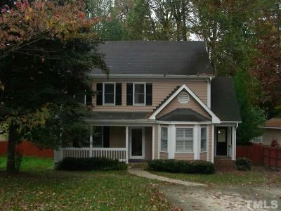 Raleigh Single Family Home For Sale: 4820 Hedgerow Drive