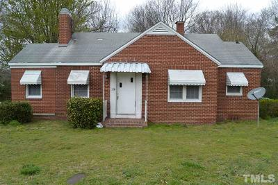 Sanford NC Single Family Home For Sale: $119,900