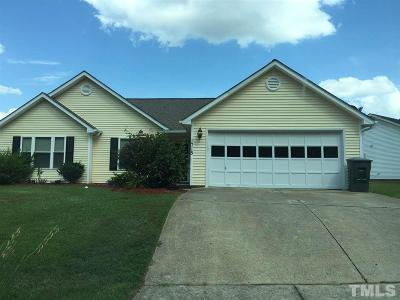 Fuquay Varina Rental For Rent: 1715 Balfour Downs Circle