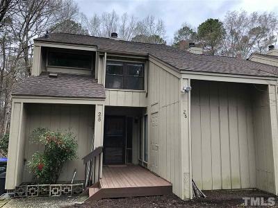 Durham Rental For Rent: 4100 Five Oaks Drive #28