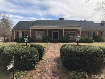 Dunn Single Family Home For Sale: 130 Fairfield Circle