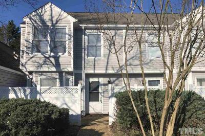 Raleigh, Cary Townhouse Contingent: 5059 Avenida Del Sol Drive