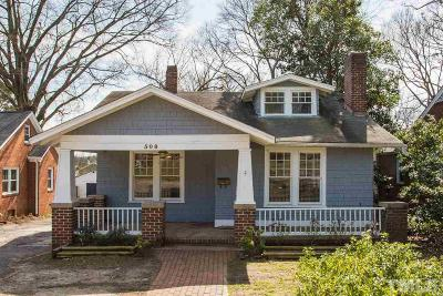 Single Family Home Contingent: 508 E Whitaker Mill Road