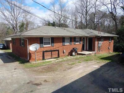 Durham Multi Family Home For Sale: 1518 & 1520 N Roxboro Street