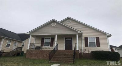 Lillington NC Single Family Home Pending: $134,900