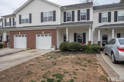 Holly Springs Townhouse Pending: 120 Cline Falls Drive