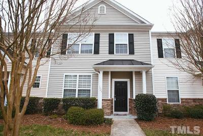 Durham Townhouse For Sale: 1220 Maroon Drive