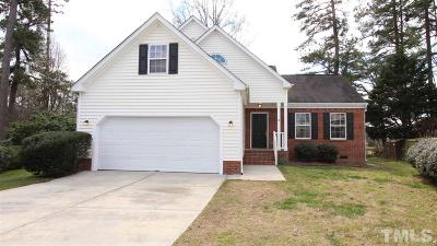 Raleigh NC Single Family Home For Sale: $249,999