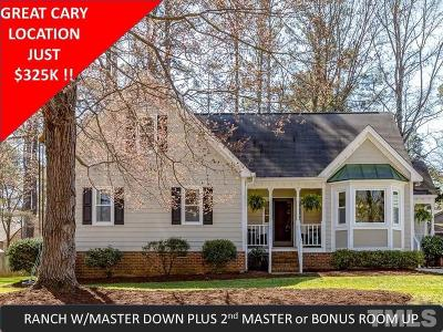 Cary Single Family Home For Sale: 309 Trimble Avenue