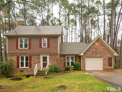 Wake County Single Family Home Contingent: 11937 Eagle Bluff Circle