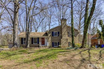 Chapel Hill Single Family Home For Sale: 307 Colony Woods Drive