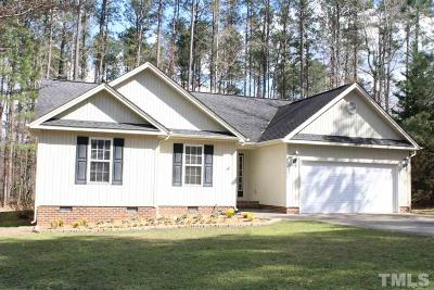 Sanford NC Single Family Home For Sale: $157,000
