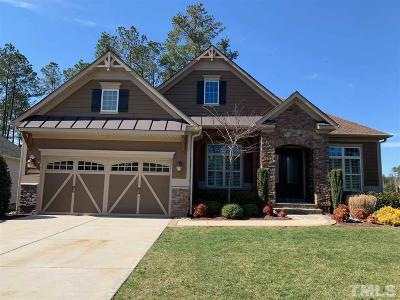 Wake Forest Single Family Home For Sale: 1765 Hasentree Villa Lane