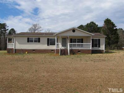 Harnett County Manufactured Home For Sale: 2290 W Nc 27 Highway