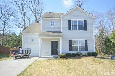 Raleigh Single Family Home Contingent: 3814 Chehaw Drive