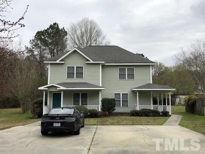 Harnett County Multi Family Home For Sale: 104 Laura Lane #A & B