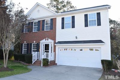 Apex Single Family Home Contingent: 2006 Mountain Court