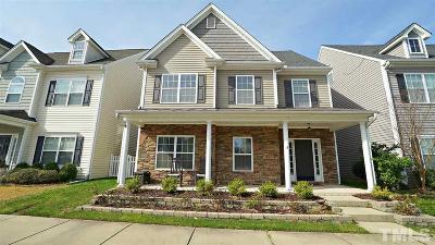 Morrisville Single Family Home Contingent: 746 Keystone Park Drive