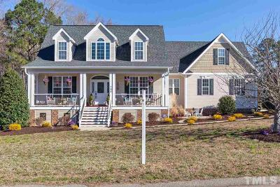 Harnett County Single Family Home For Sale: 398 Scuppernong Lane