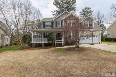 Raleigh Single Family Home Contingent: 131 Mediate Drive