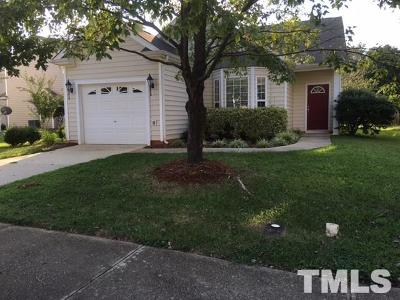 Wake County Rental For Rent: 2520 Valley Haven Drive