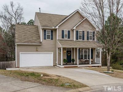 Holly Springs Single Family Home For Sale: 105 Knobview Court