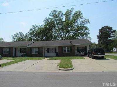 Johnston County Multi Family Home For Sale: 807 W Walnut Street