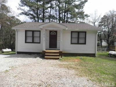 Wake County Rental For Rent: 5819 Fayetteville Road