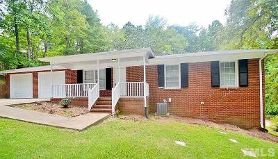 Durham Rental For Rent: 4607 Stillview Drive