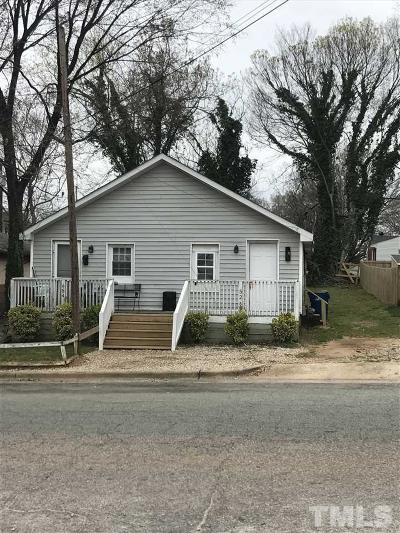 Raleigh Rental For Rent: 652 Coleman Street