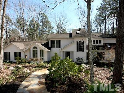 Chatham County Single Family Home For Sale: 607 Stoneview