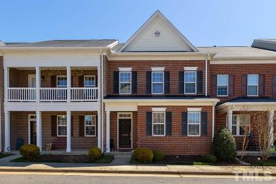 Raleigh Townhouse For Sale: 1345 Still Monument Way