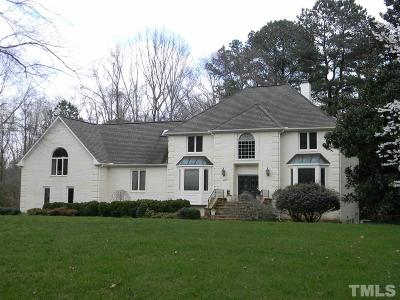 Raleigh Single Family Home For Sale: 9504 Koupela Drive