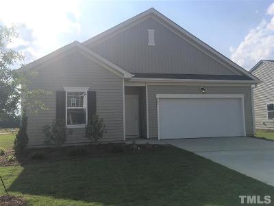 Zebulon Single Family Home For Sale: 709 Kenyon Spring Drive #lot 72