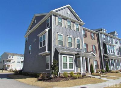 Raleigh Townhouse For Sale: 6412 Kayton Street