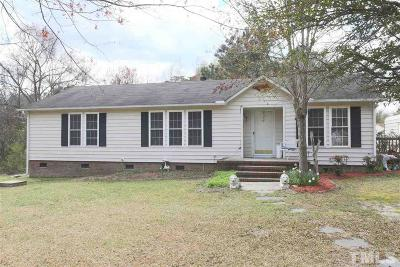 Angier Single Family Home For Sale: 124 Pleasant Court